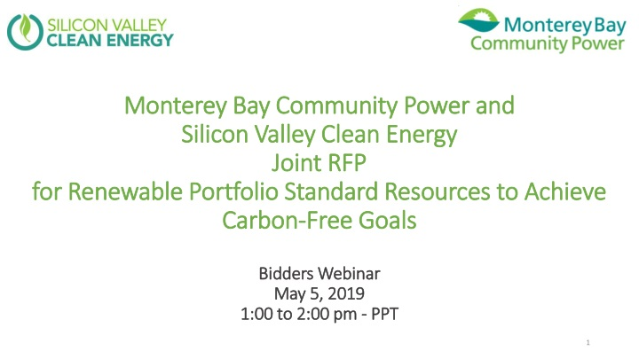 monterey bay community power and silicon valley n.