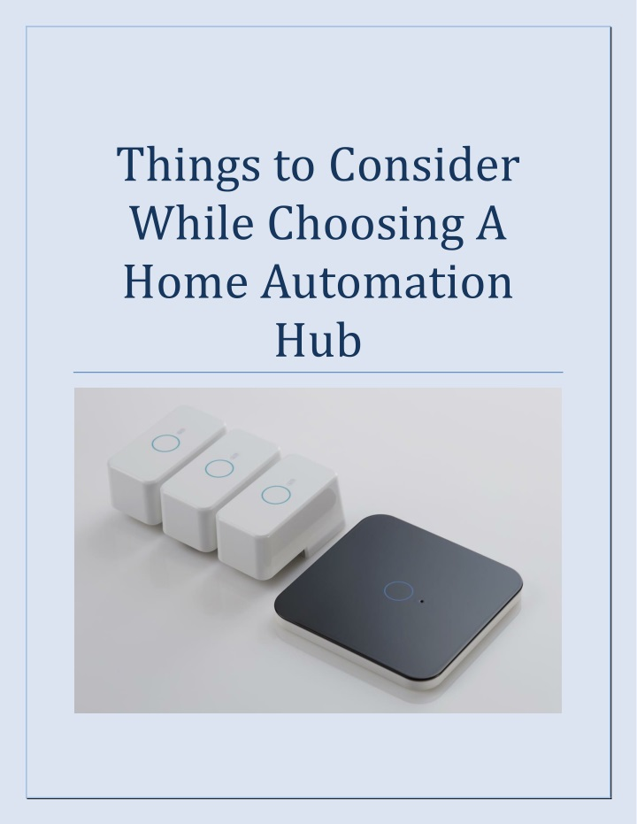 things to consider while choosing a home n.
