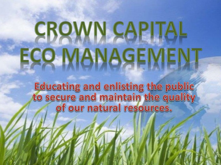 crown capital eco management n.