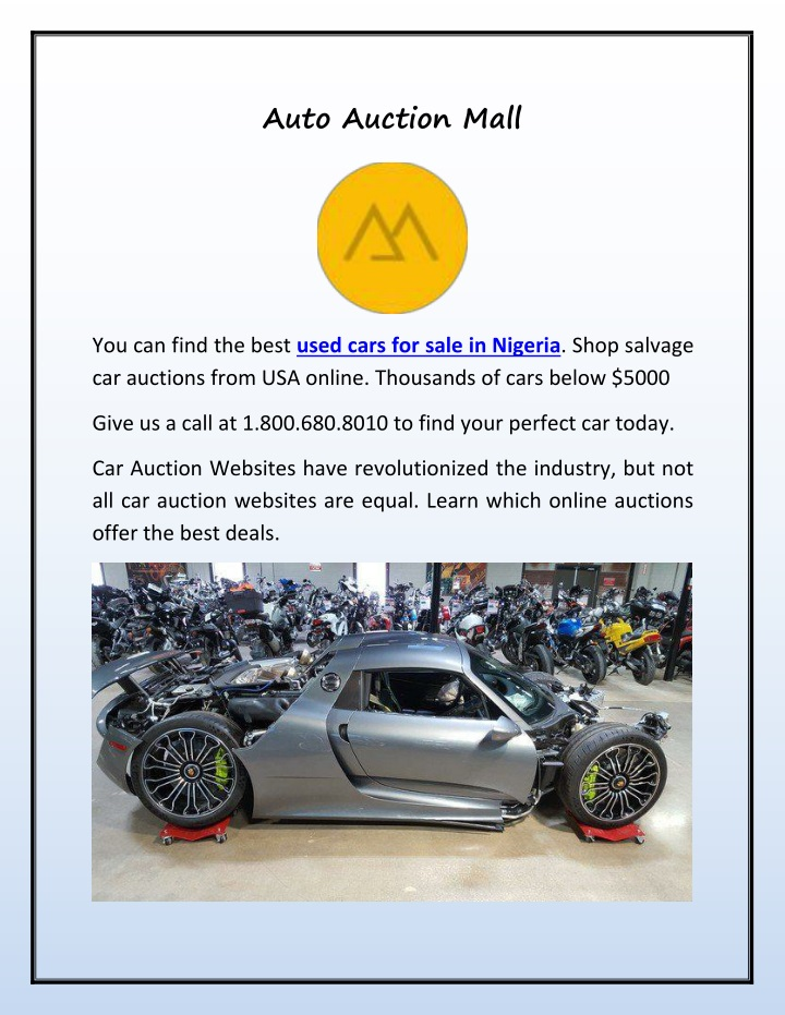 auto auction mall n.