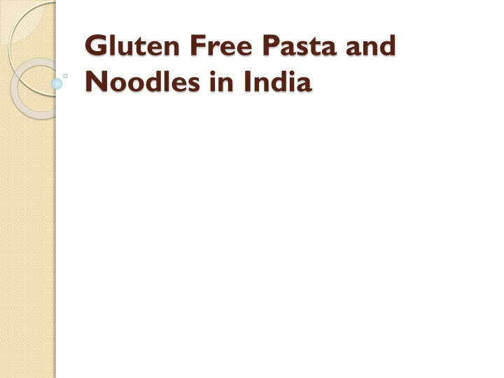 gluten free pasta and noodles in india n.