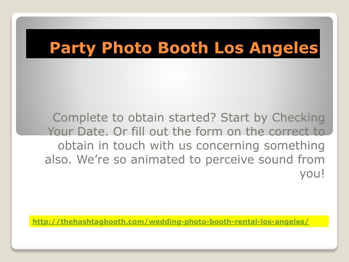 party photo booth los angeles n.