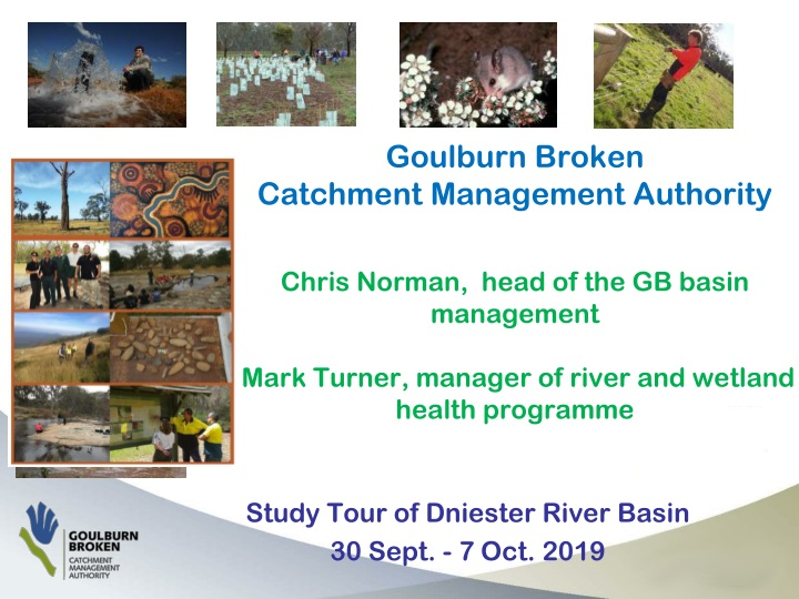 study tour of dniester river basin 30 sept 7 oct 2019 n.