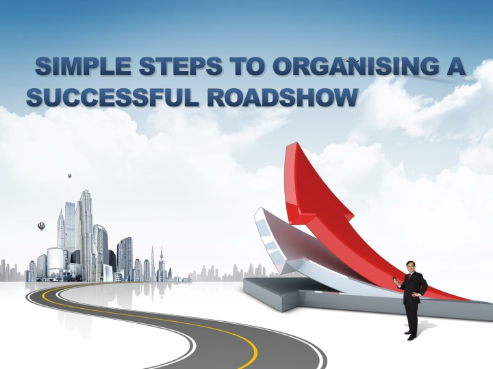 simple steps to organising a successful roadshow n.
