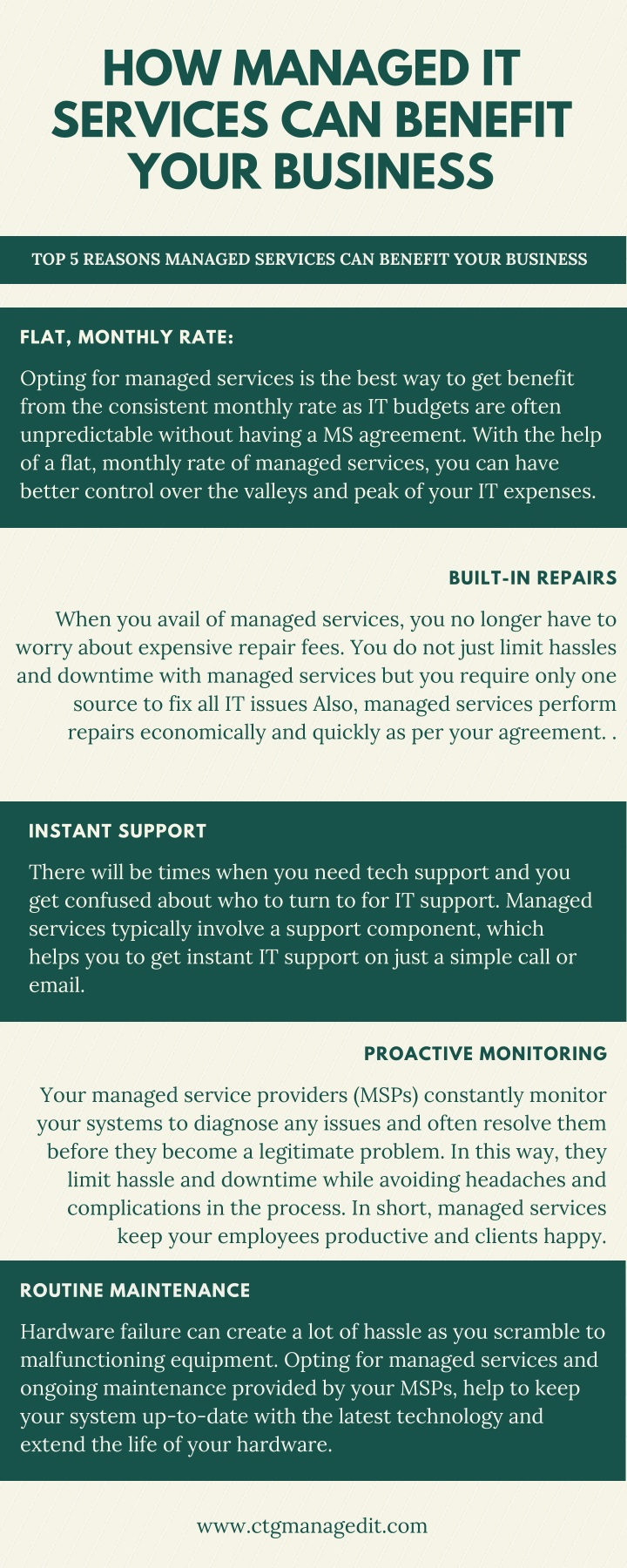 how managed it services can benefit your business n.
