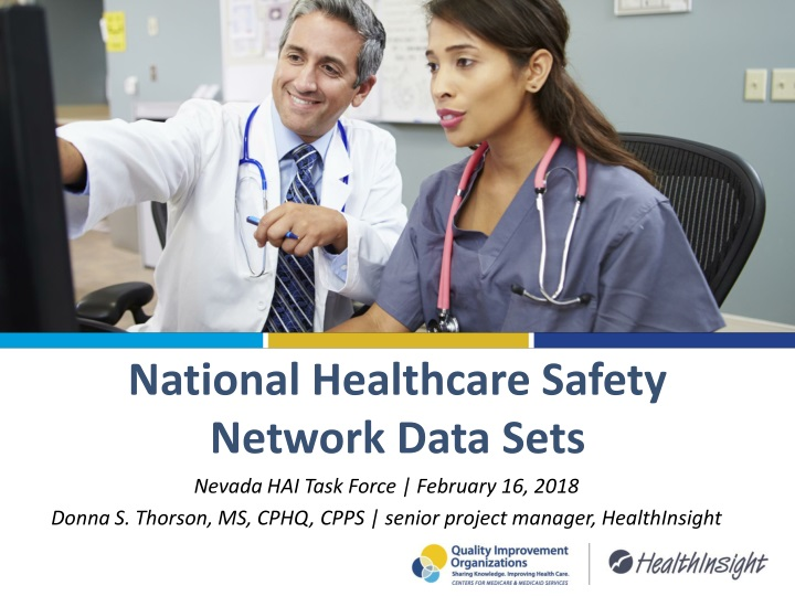 national healthcare safety network data sets n.