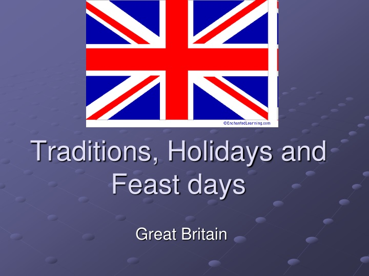 traditions holidays and feast days n.