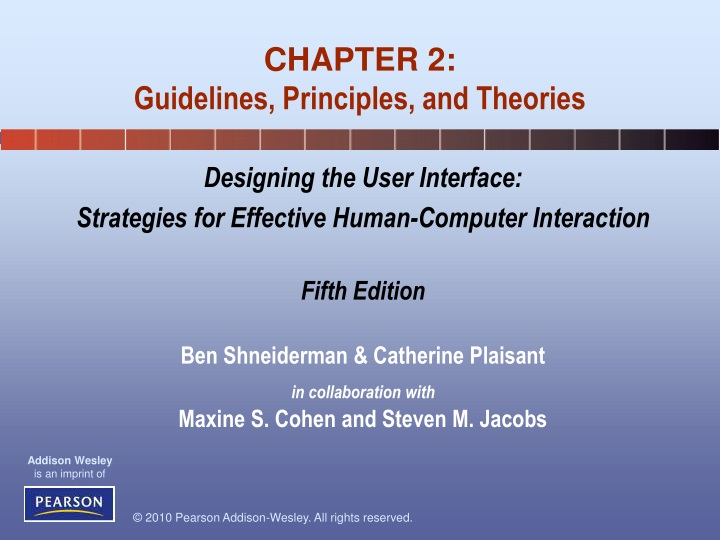 chapter 2 guidelines principles and theories n.