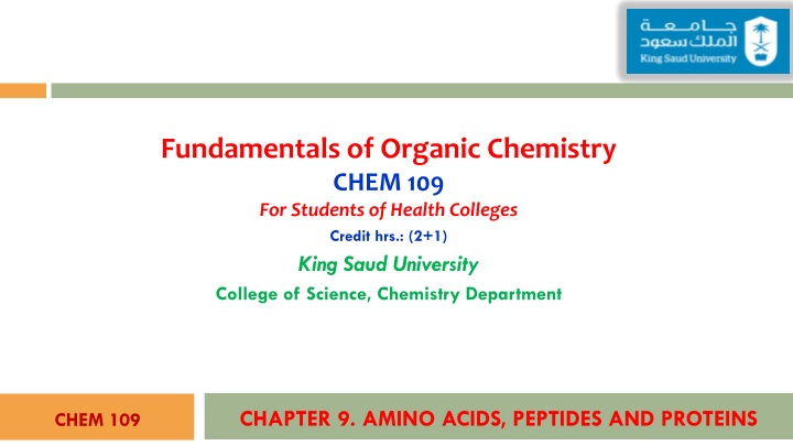 chapter 9 amino acids peptides and proteins n.