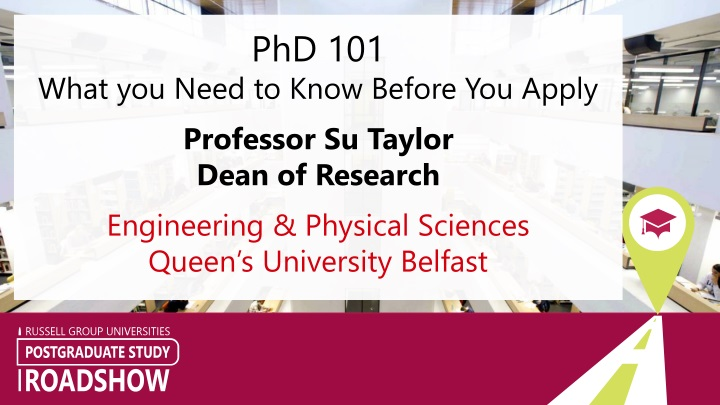 phd 101 what you need to know before you apply n.