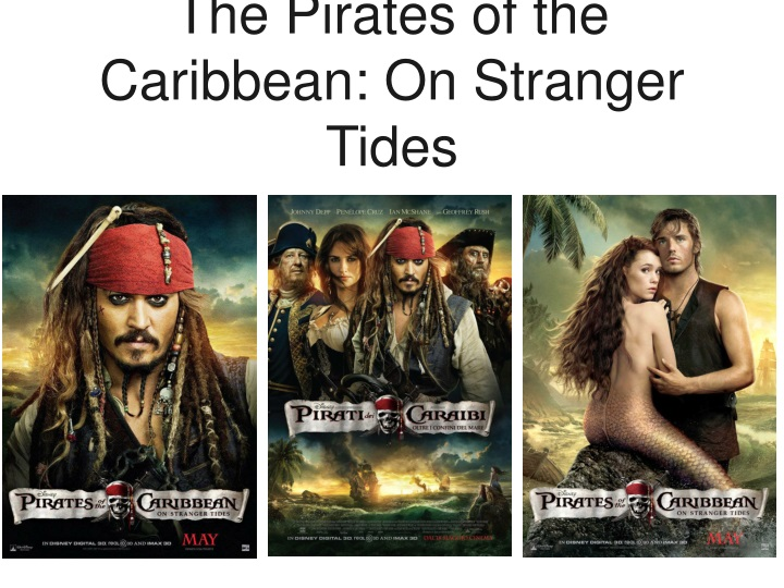 the pirates of the caribbean on stranger tides n.