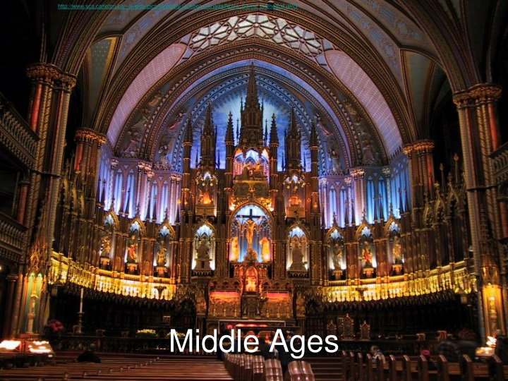 middle ages n.