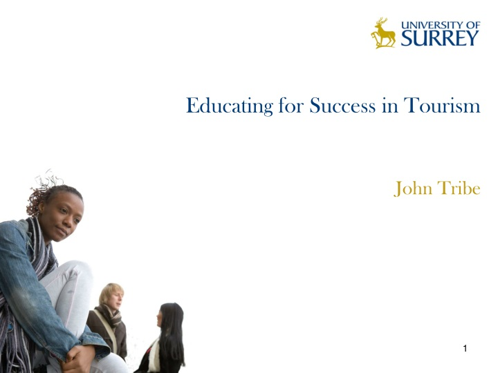 educating for success in tourism n.