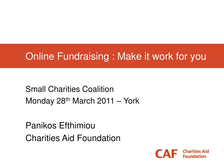 online fundraising make it work for you n.