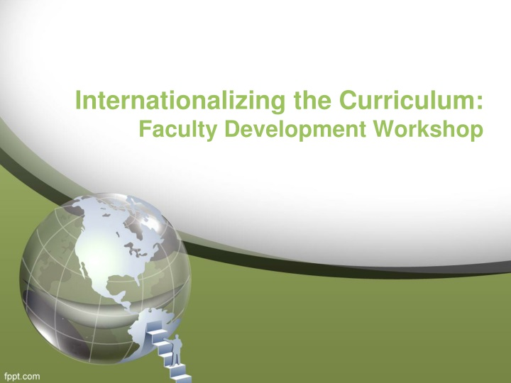 internationalizing the curriculum faculty development workshop n.