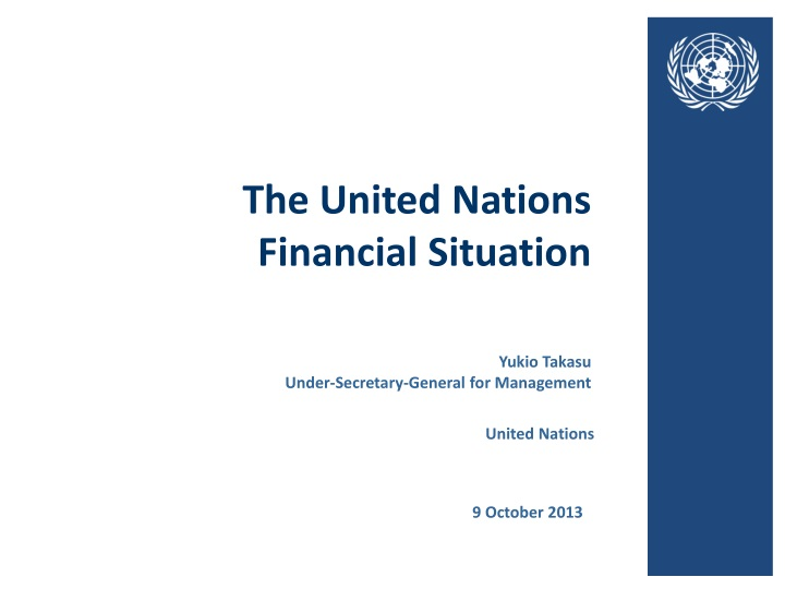 the united nations financial situation n.