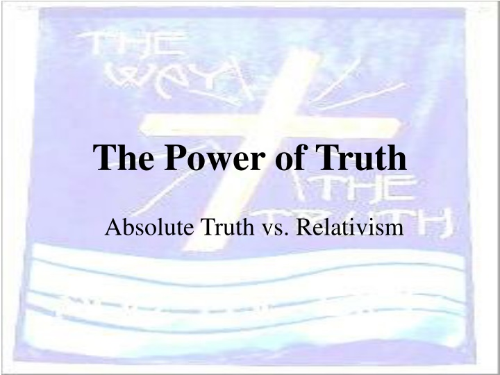 the power of truth n.