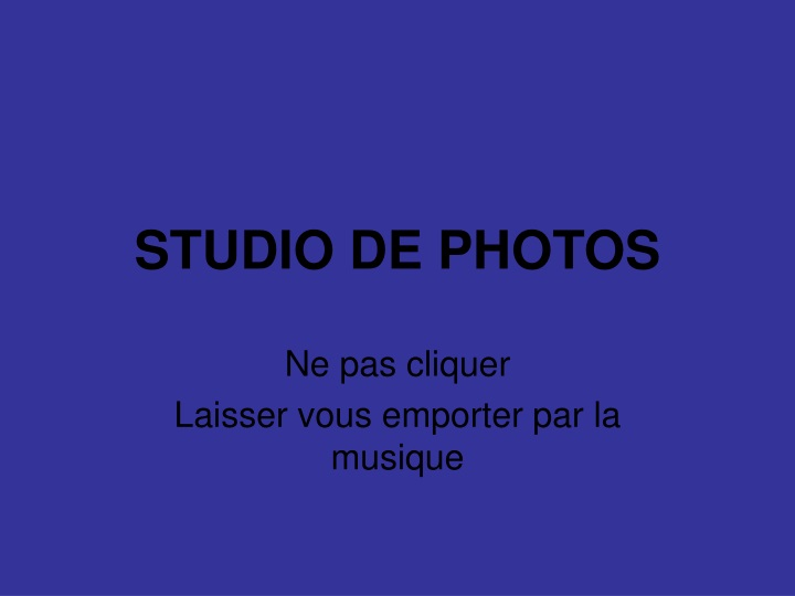 studio de photos n.