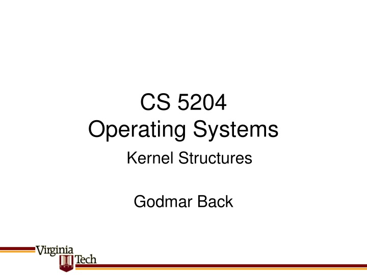 cs 5204 operating systems n.