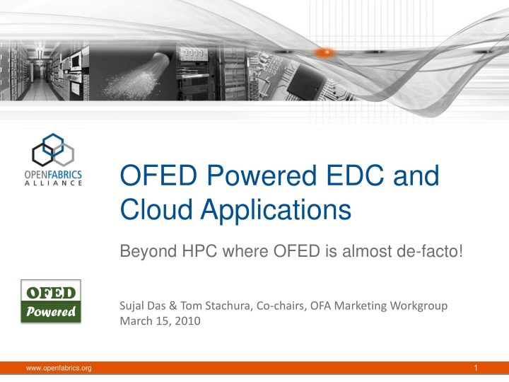 ofed powered edc and cloud applications n.