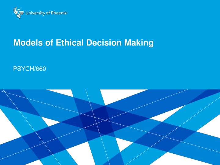 models of ethical decision making n.