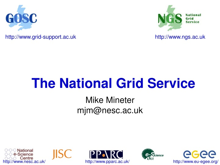 the national grid service n.