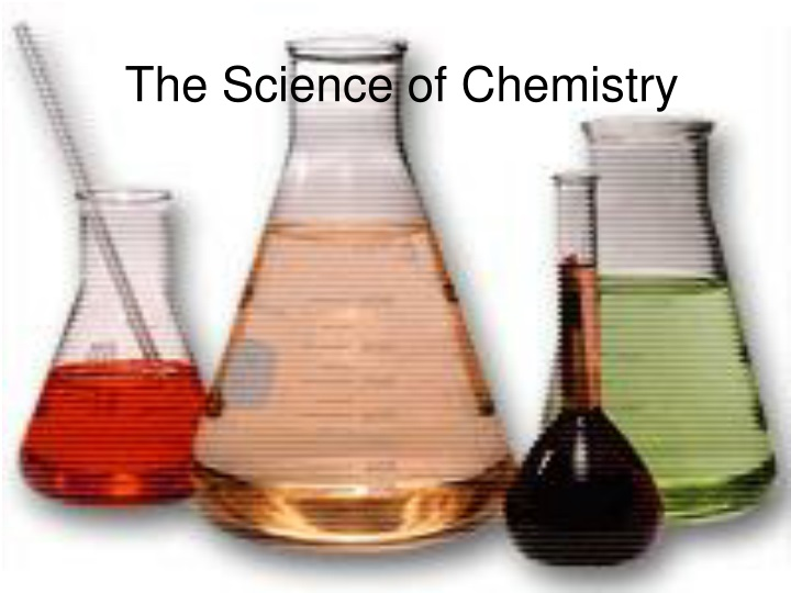 the science of chemistry n.