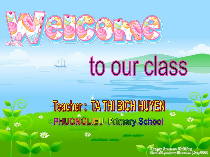 to our class n.