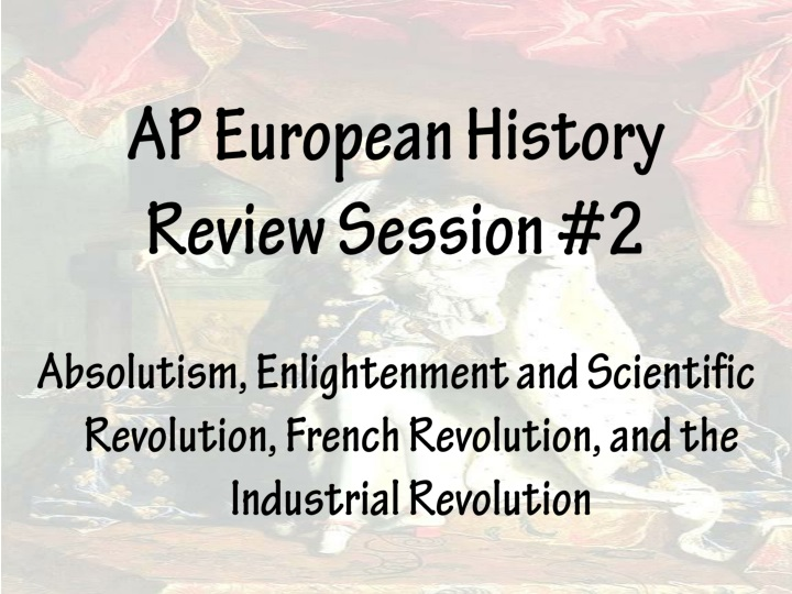 ap european history review session 2 n.