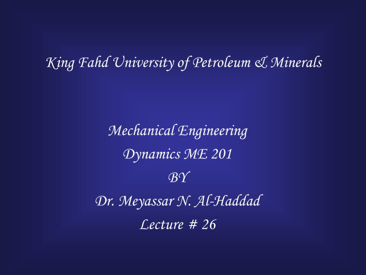 king fahd university of petroleum minerals n.