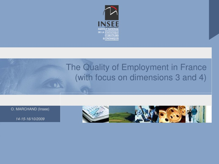 the quality of employment in france with focus on dimensions 3 and 4 n.