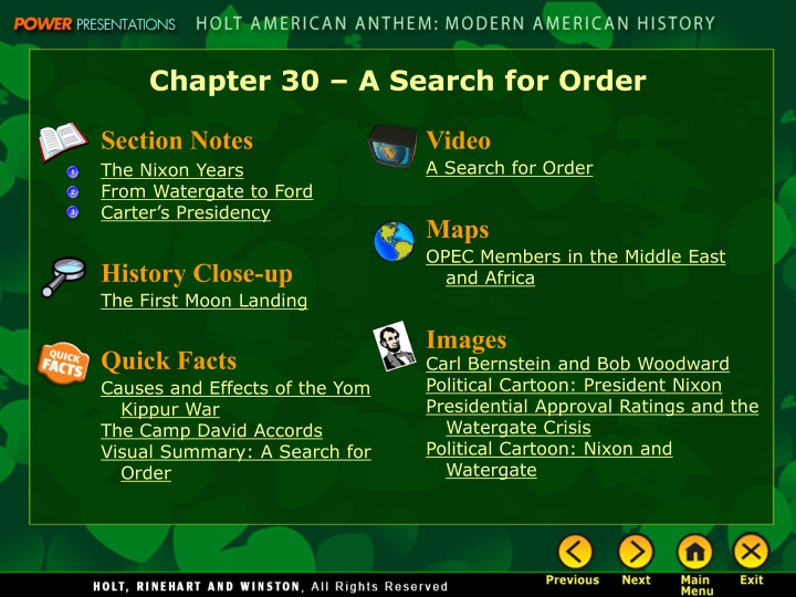 chapter 30 a search for order n.