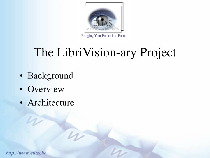 the librivision ary project n.