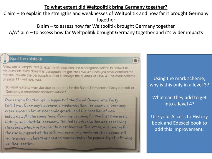 to what extent did weltpolitik bring germany n.
