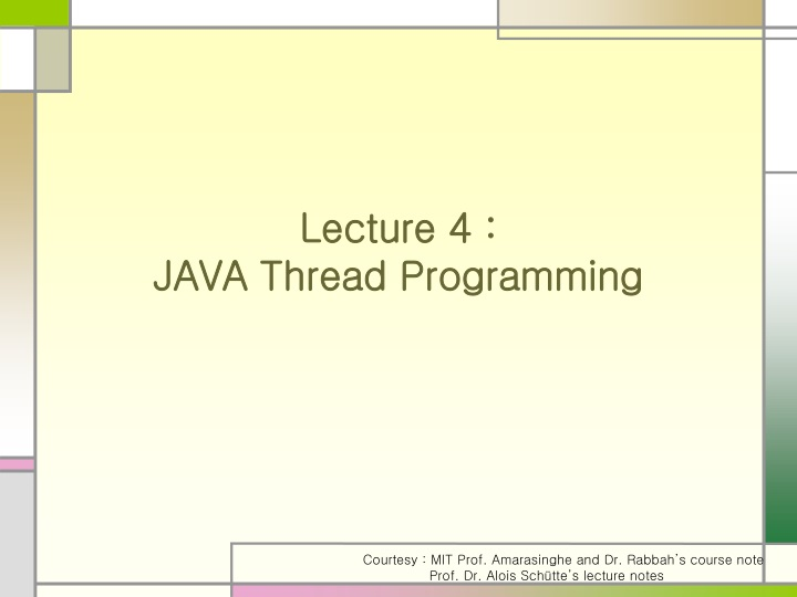 lecture 4 java thread programming n.