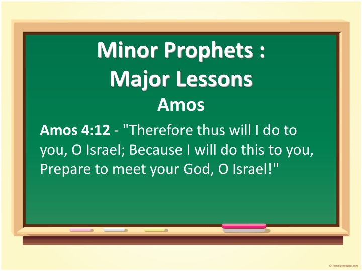 minor prophets major lessons n.