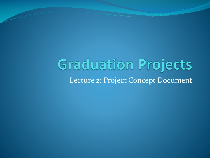 graduation projects n.