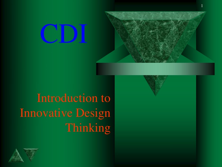 introduction to innovative design thinking n.