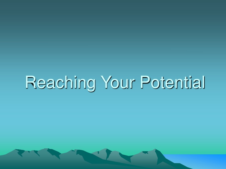 reaching your potential n.