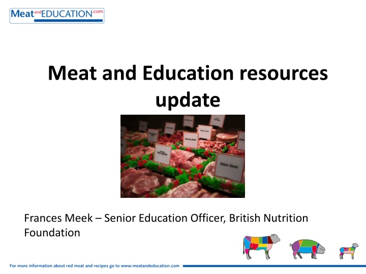 meat and education resources update n.