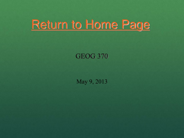 return to home page n.