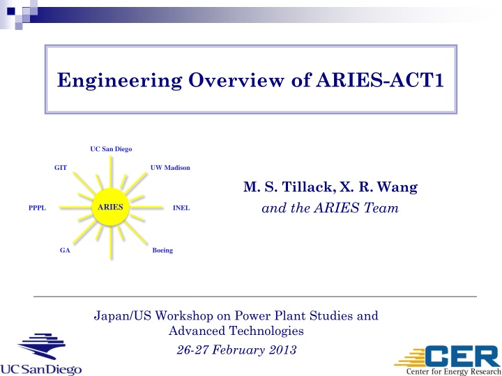 engineering overview of aries act1 n.