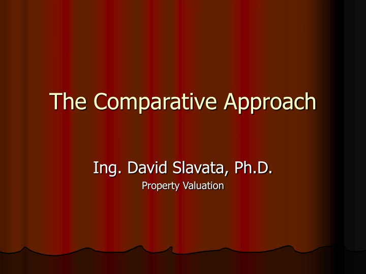 the comparative approach n.