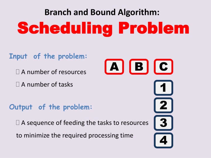 branch and bound algorithm n.