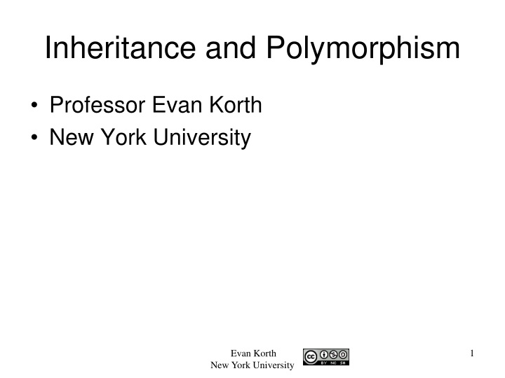 inheritance and polymorphism n.