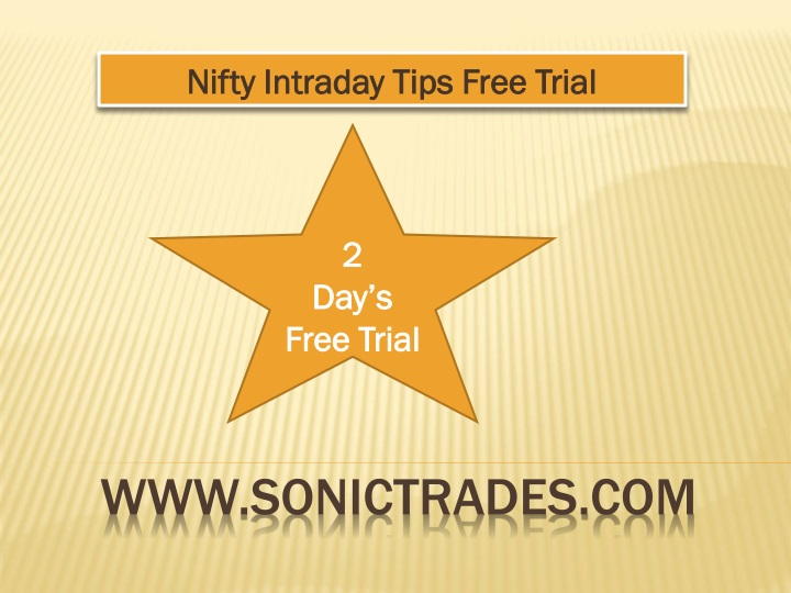nifty intraday tips free trial n.