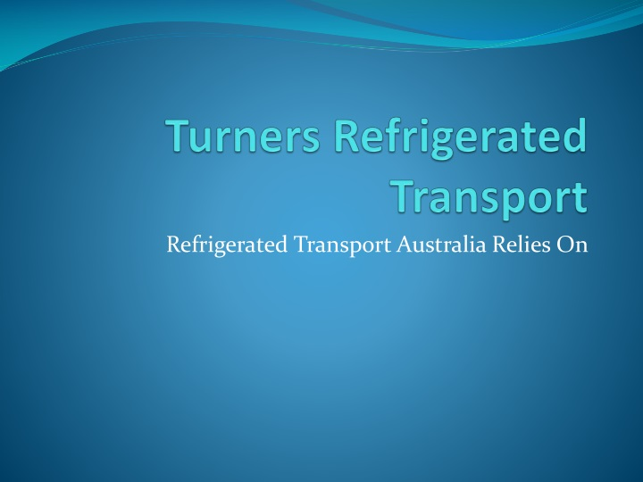 turners refrigerated transport n.
