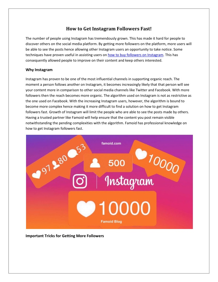 how to get instagram followers fast n.