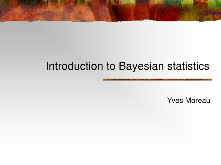 introduction to bayesian statistics n.