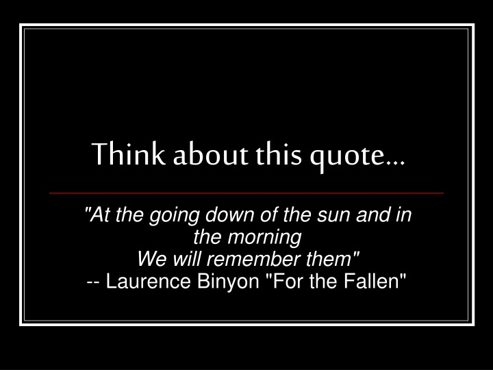 think about this quote n.